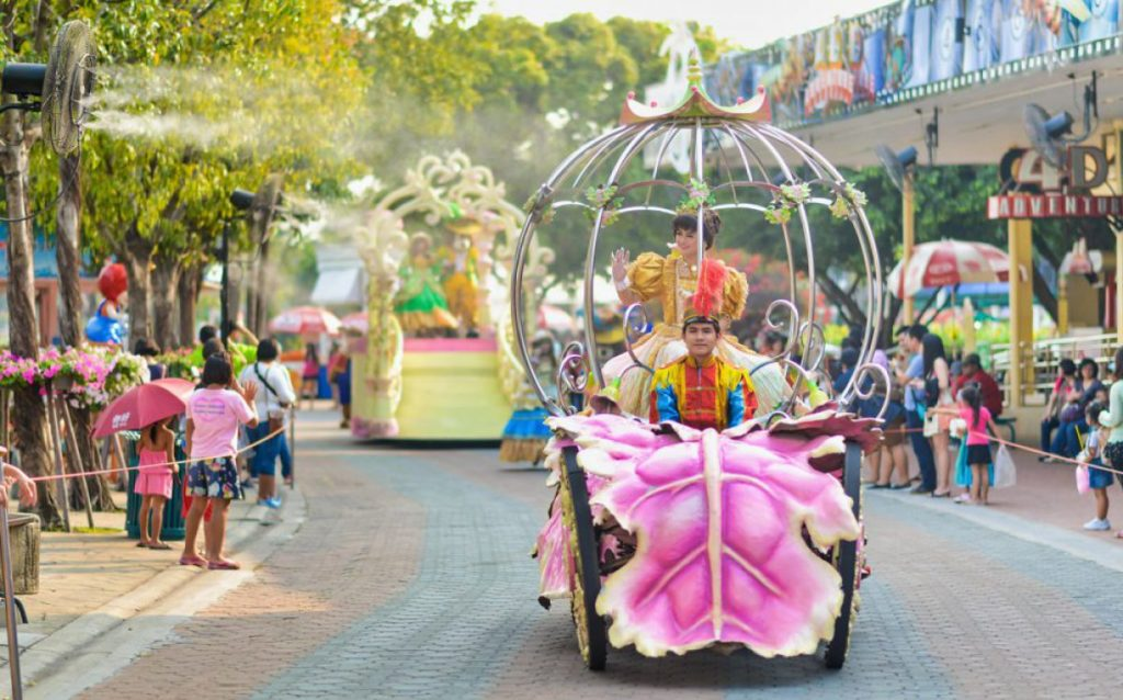 בנקוק גני שעשועים bangkok Dream World